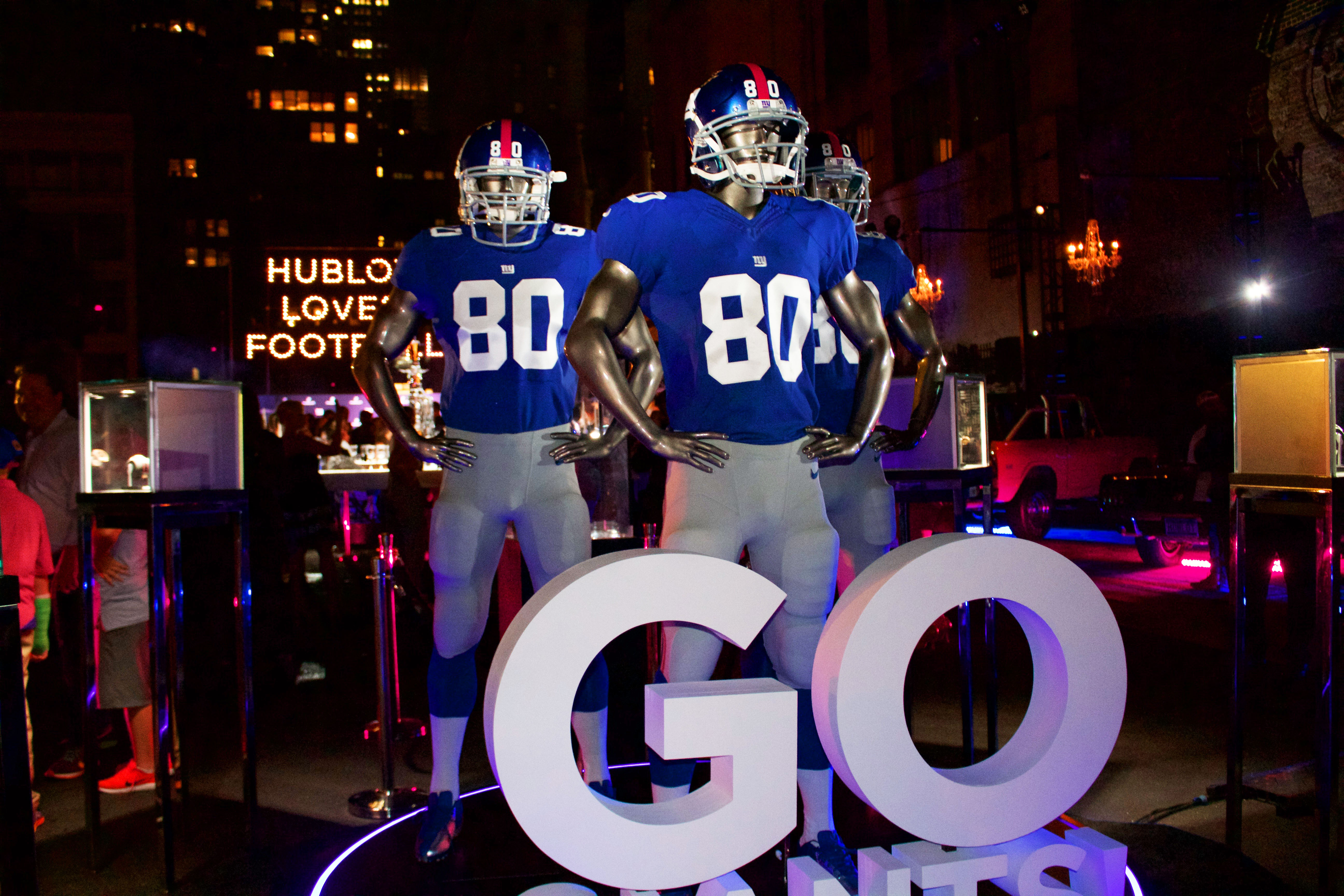 Hublot Watches x New York Giants - Rise & Set Agency